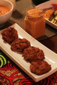 Mango Habenero Hot Sauces + Akara