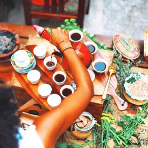 Ethiopian Coffee Ceremony (eat ethio)