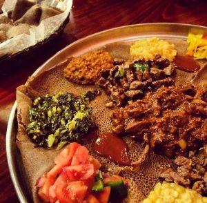 Ethiopian Platter Source: Instagram: WDC_eats