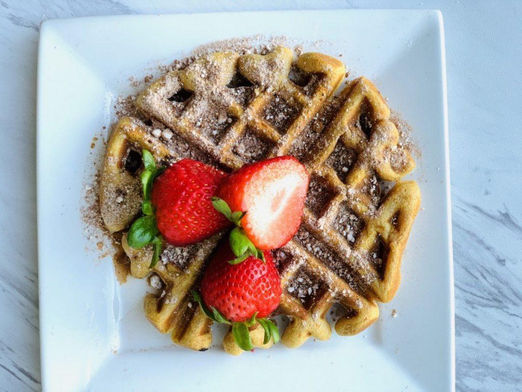 Kirby sweet pot waffle