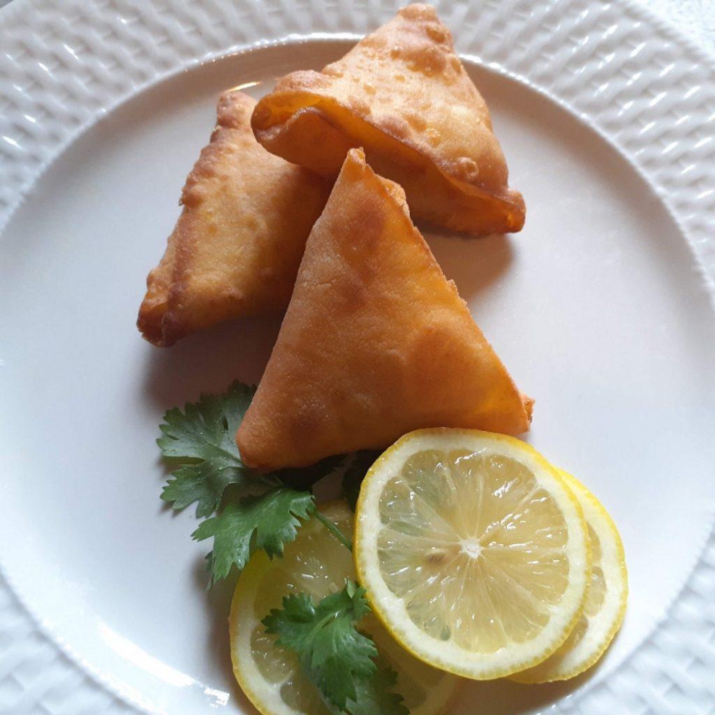 Sweet Potato sambusa