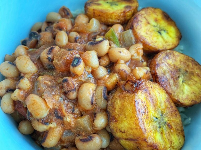 Wine recommendations for West African favourites like red-red (stew) and sweet plantains are rare.
