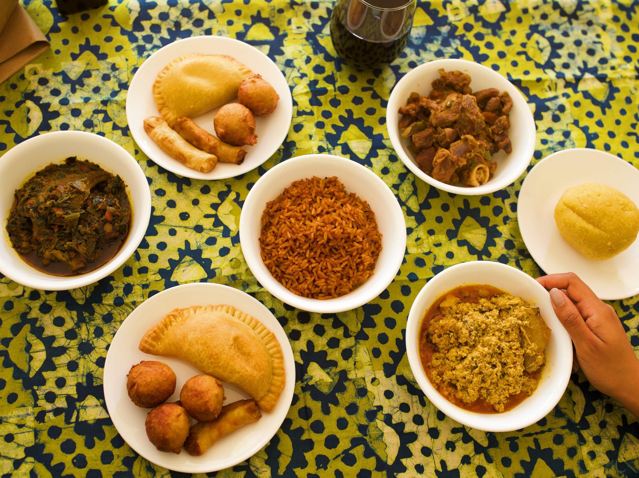 Order Nigerian food home with BLACK FOODIE