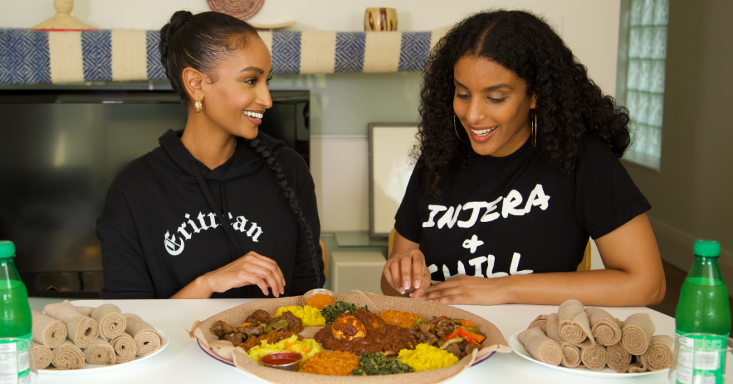 How to eat Eritrean and Ethiopian food by BLACK FOODIE