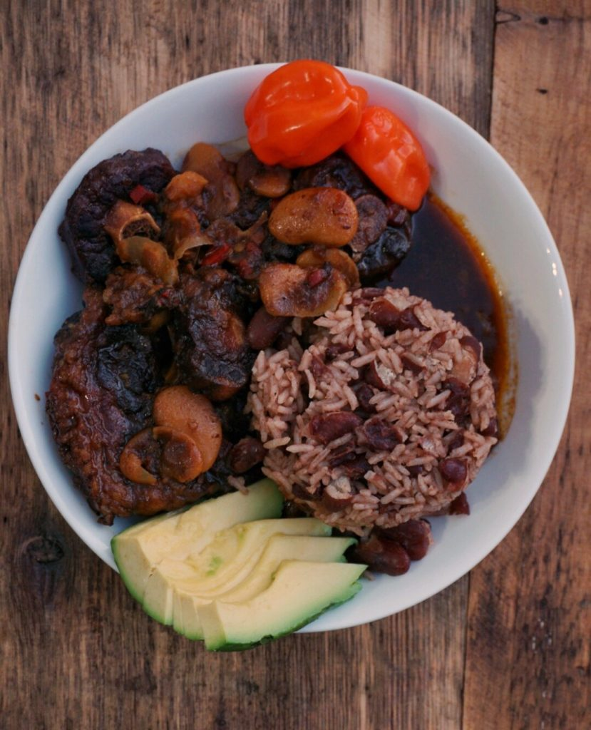 Caribbean Friday Night Oxtail - Just add a little hot sauce